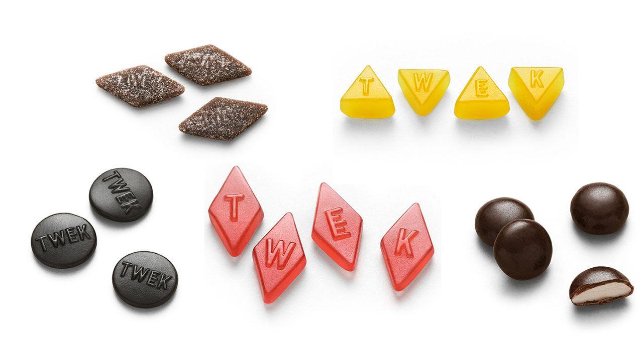 Lösviktsgodis med 95 procent mindre socker