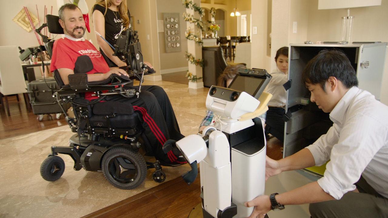 Toyota testar robot som kan hjälpa rörelsehindrade
