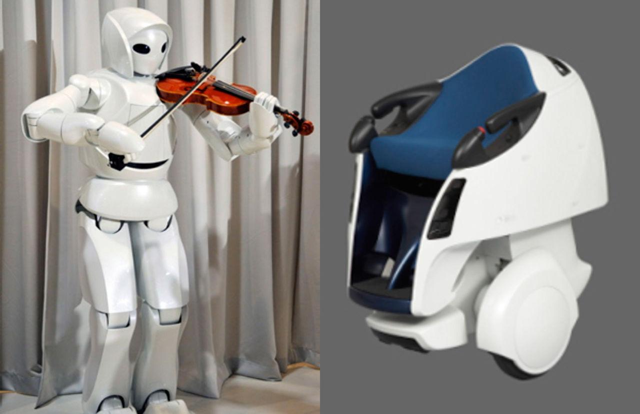 Nya robotar från Toyota
