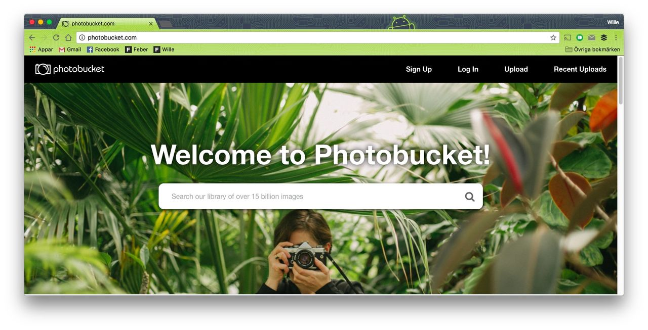 Photobucket börjar ta betalt om man vill bädda in deras bilder