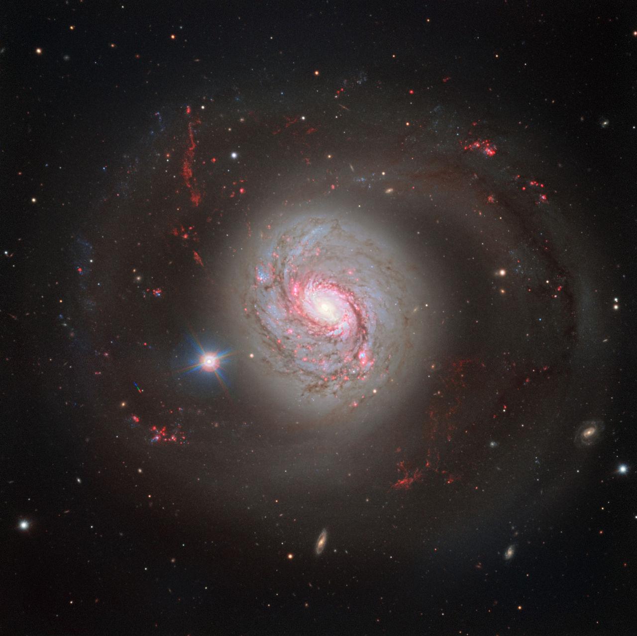 VLT fotar snygg bild på galaxen Messier 77
