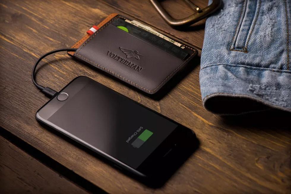 Volterman är en smart plånbok