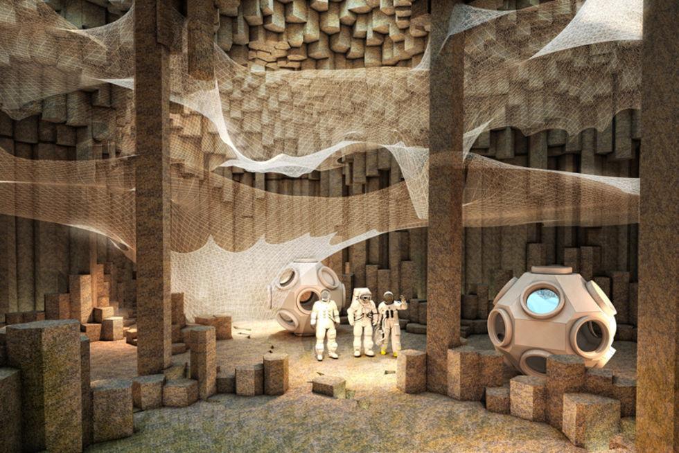 NASA ska testa kärnreaktor för framtida Mars-kolonier