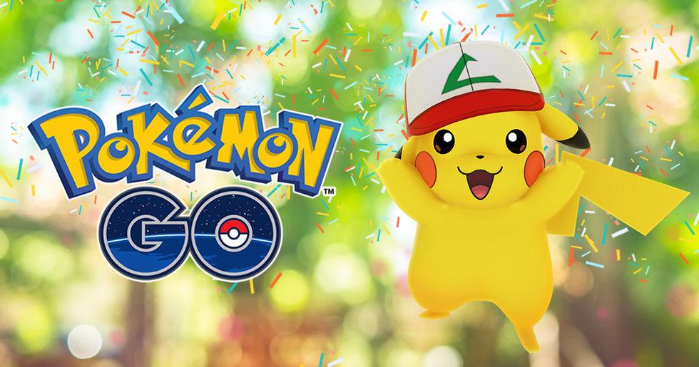 Tut i luren - Pokémon Go fyller ett år idag!