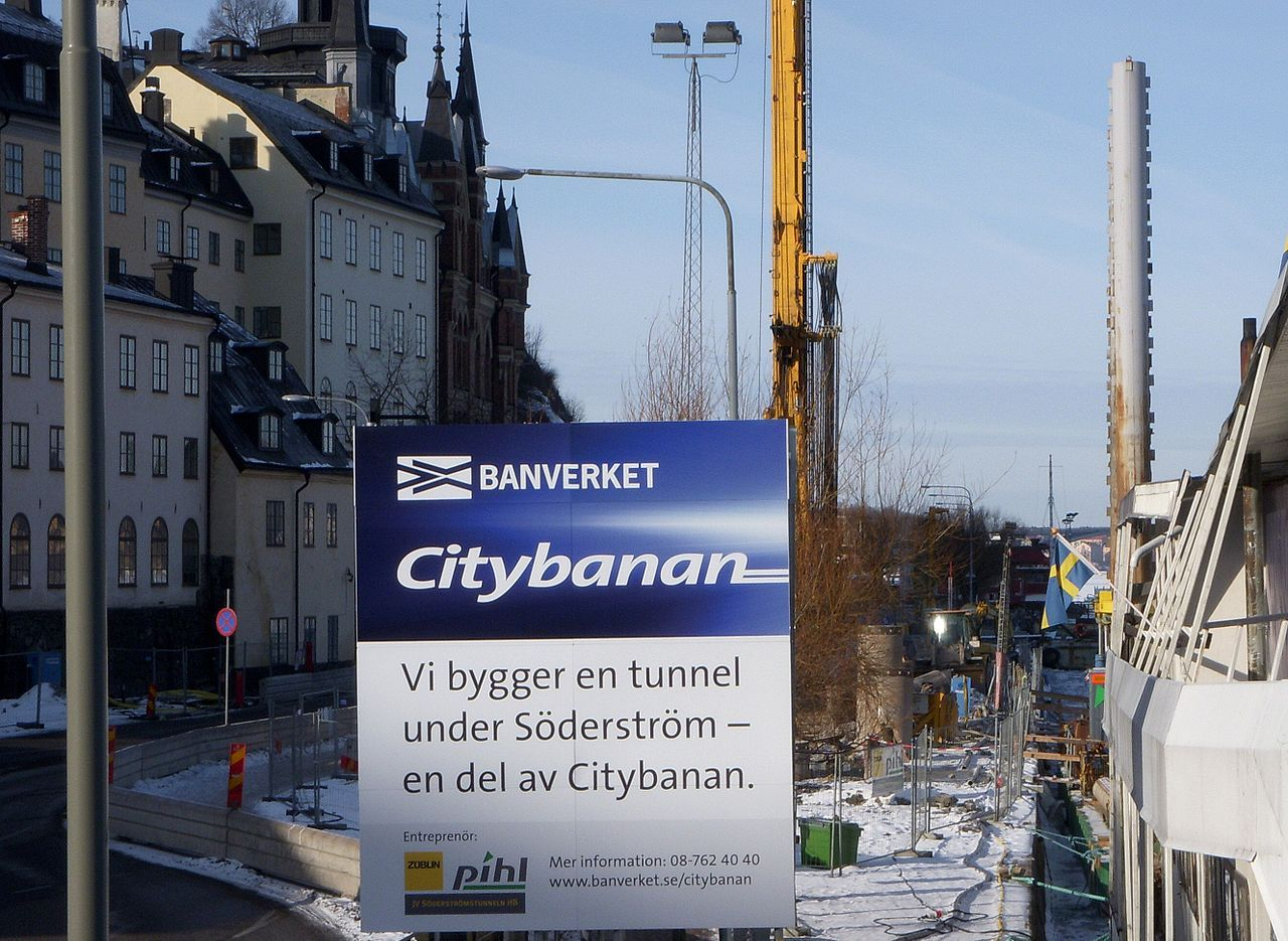 Nu är Citybanan i Stockholm invigd