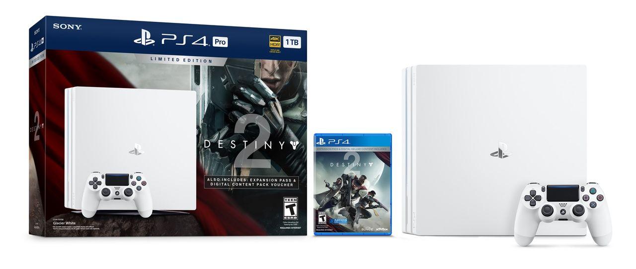 Vit Playstation 4 Pro släpps som specialutgåva