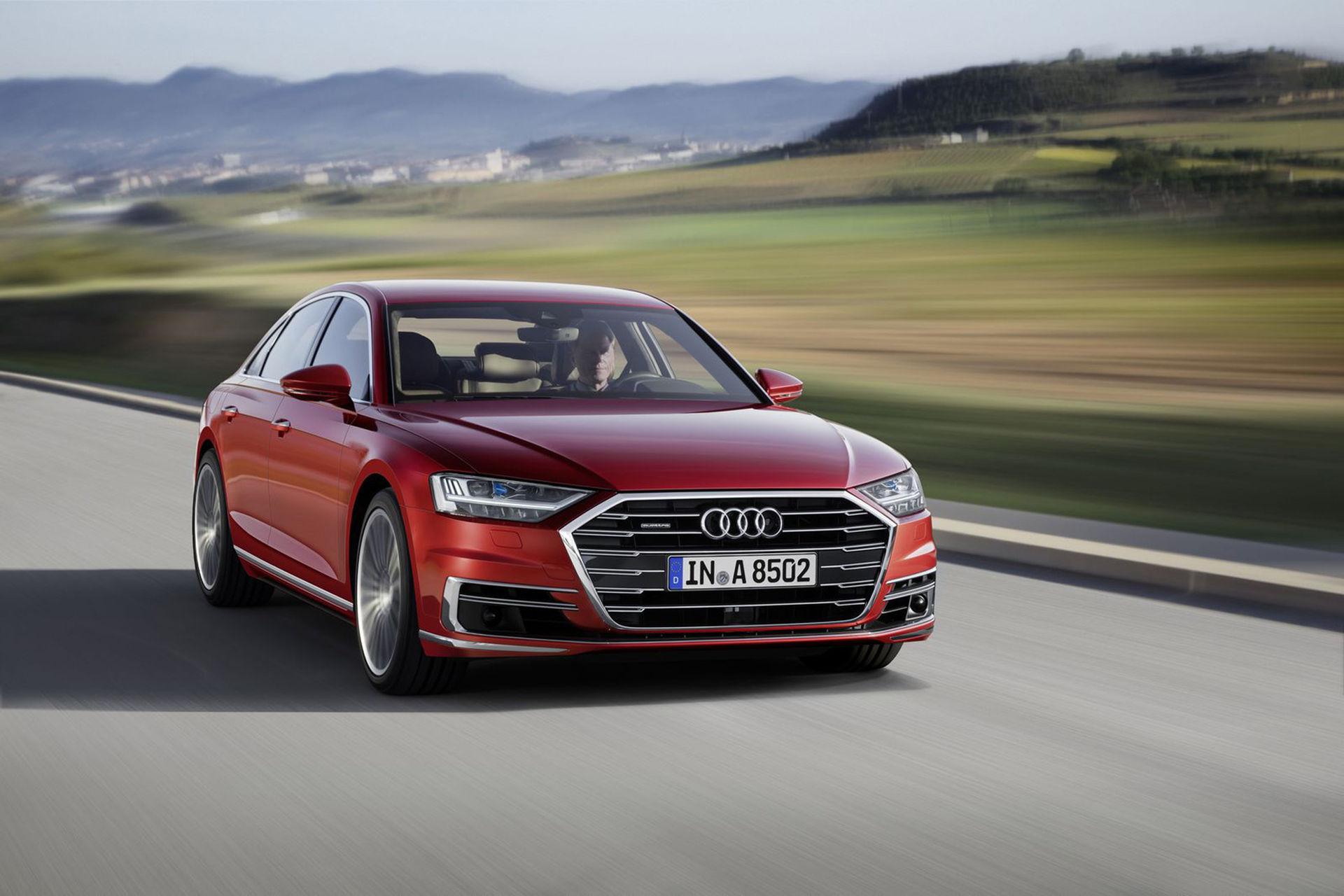 Audi presenterar helt nya A8