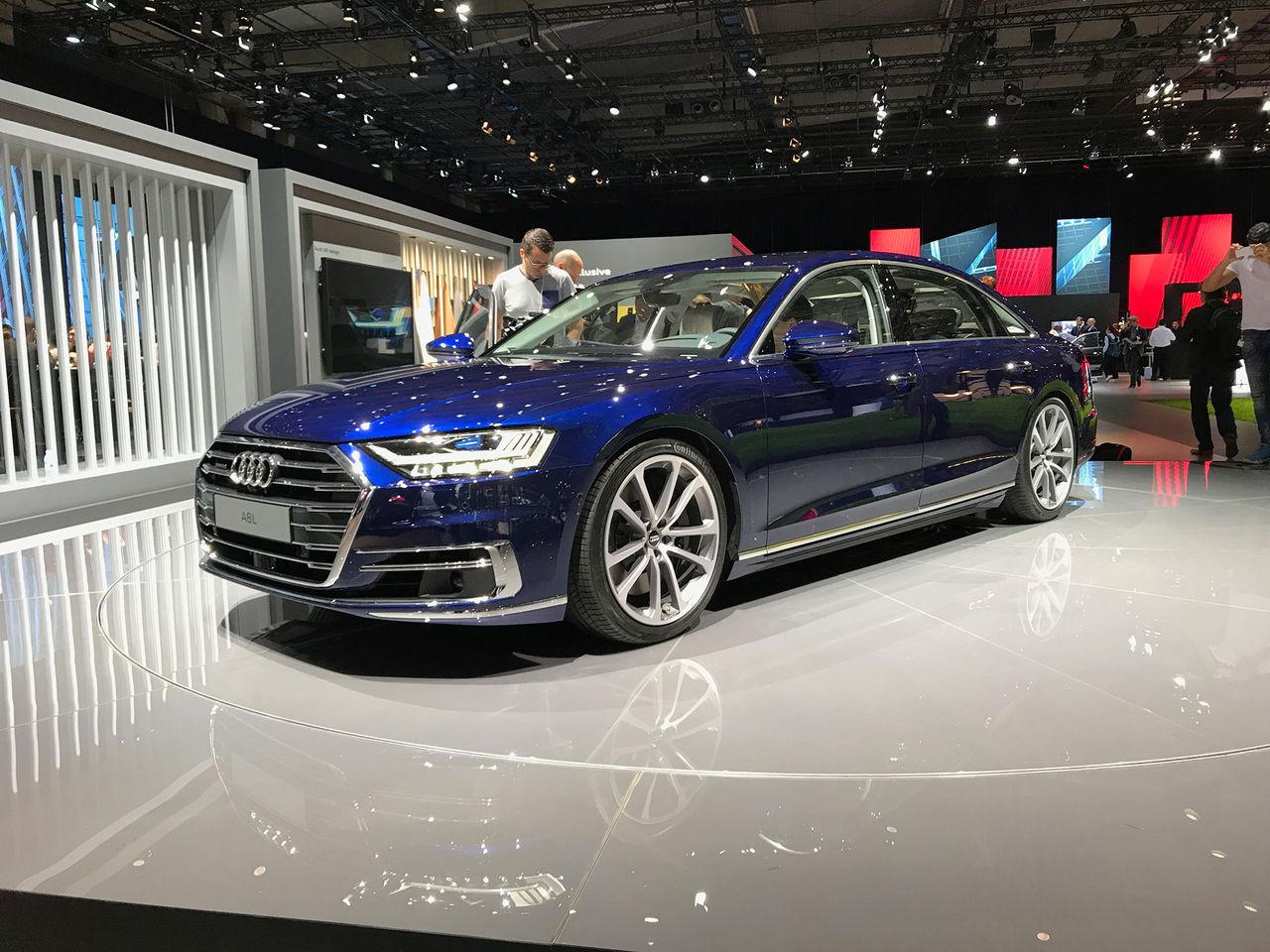 Vi har kollat in nya Audi A8!