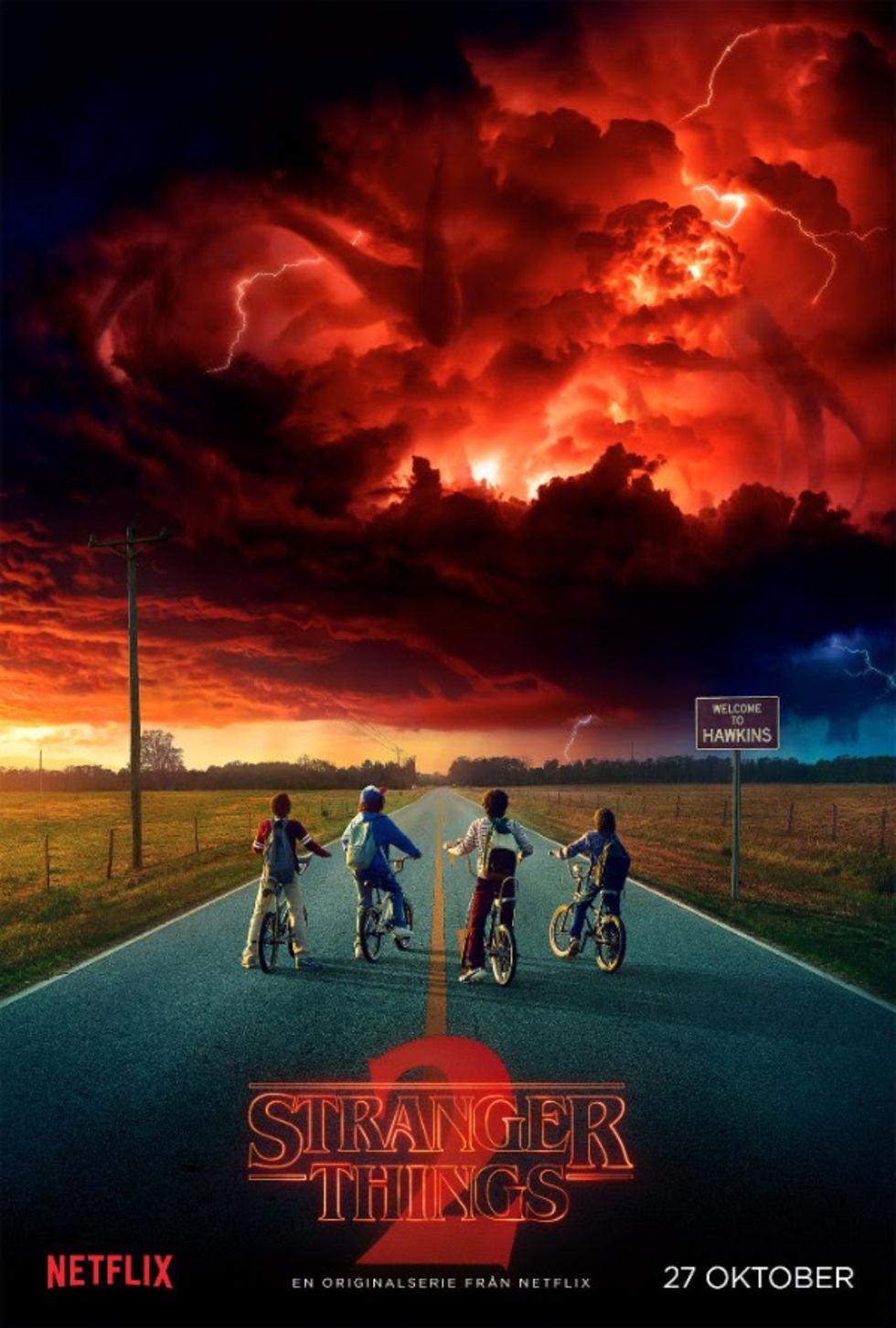 Mer Stranger Things släpps 27 oktober