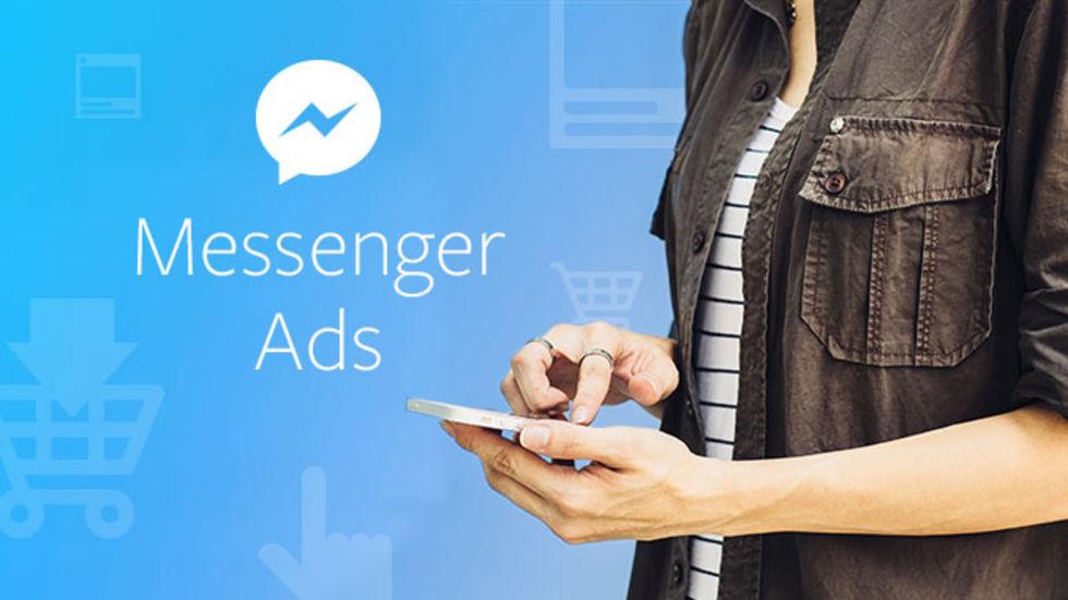 Nu kommer annonser till Facebook Messenger