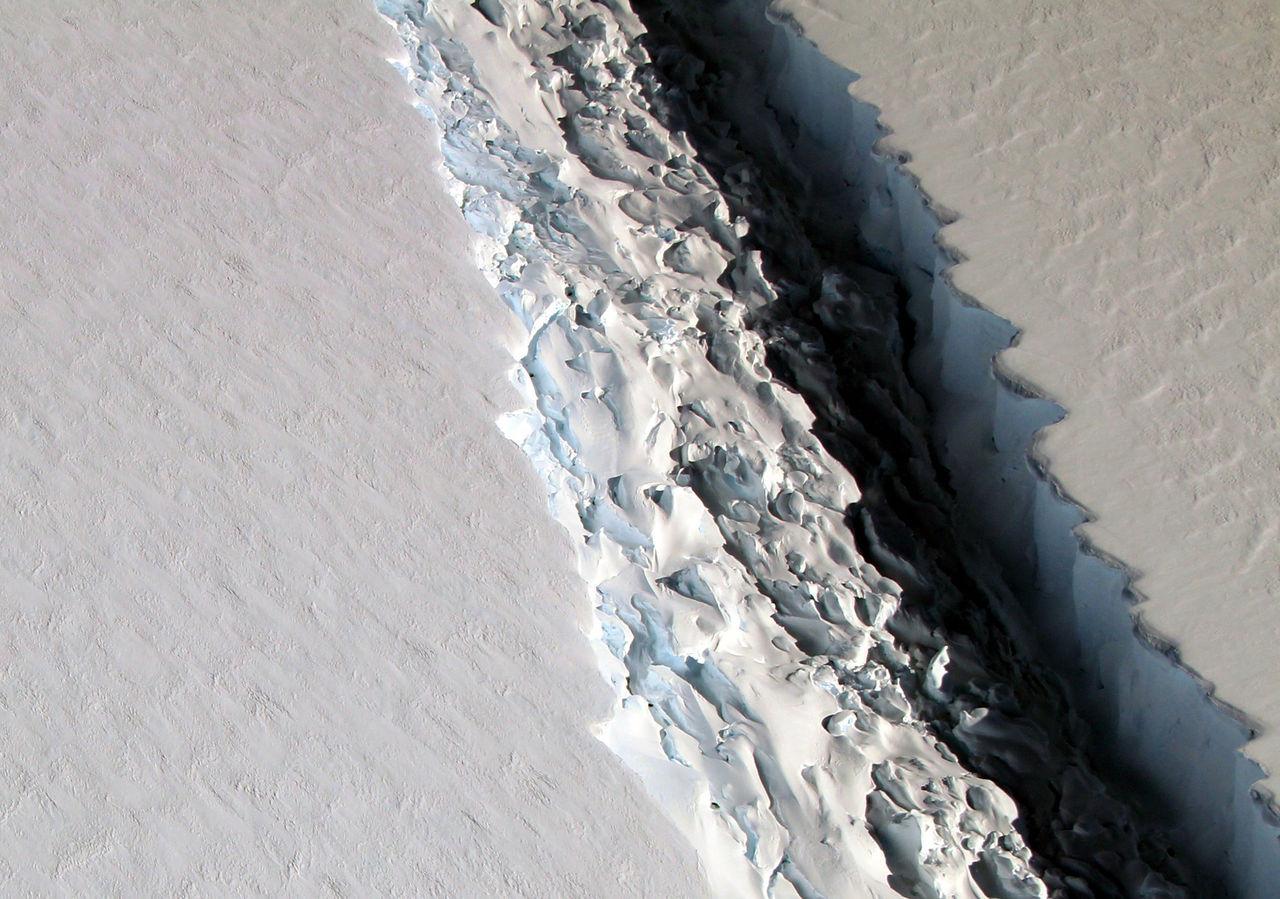 Jätteisberg har lossnat från Antarktis