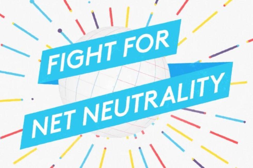 Idag demonstrerar USA för nätneutralitet