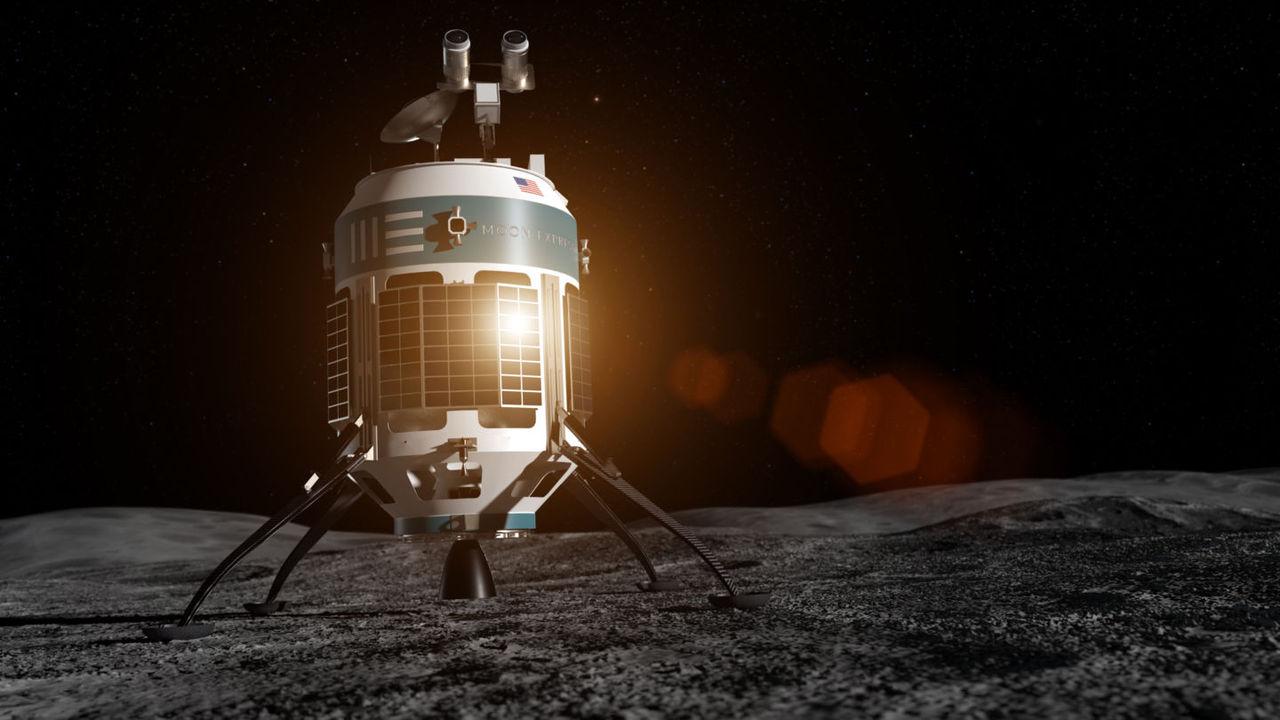Moon Express planerar att plocka hem stenar från månen