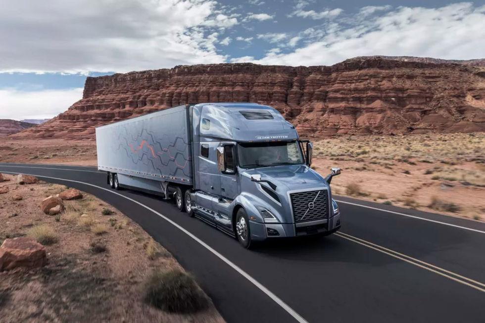 Volvo Trucks visar upp ny modell av Volvo VNL