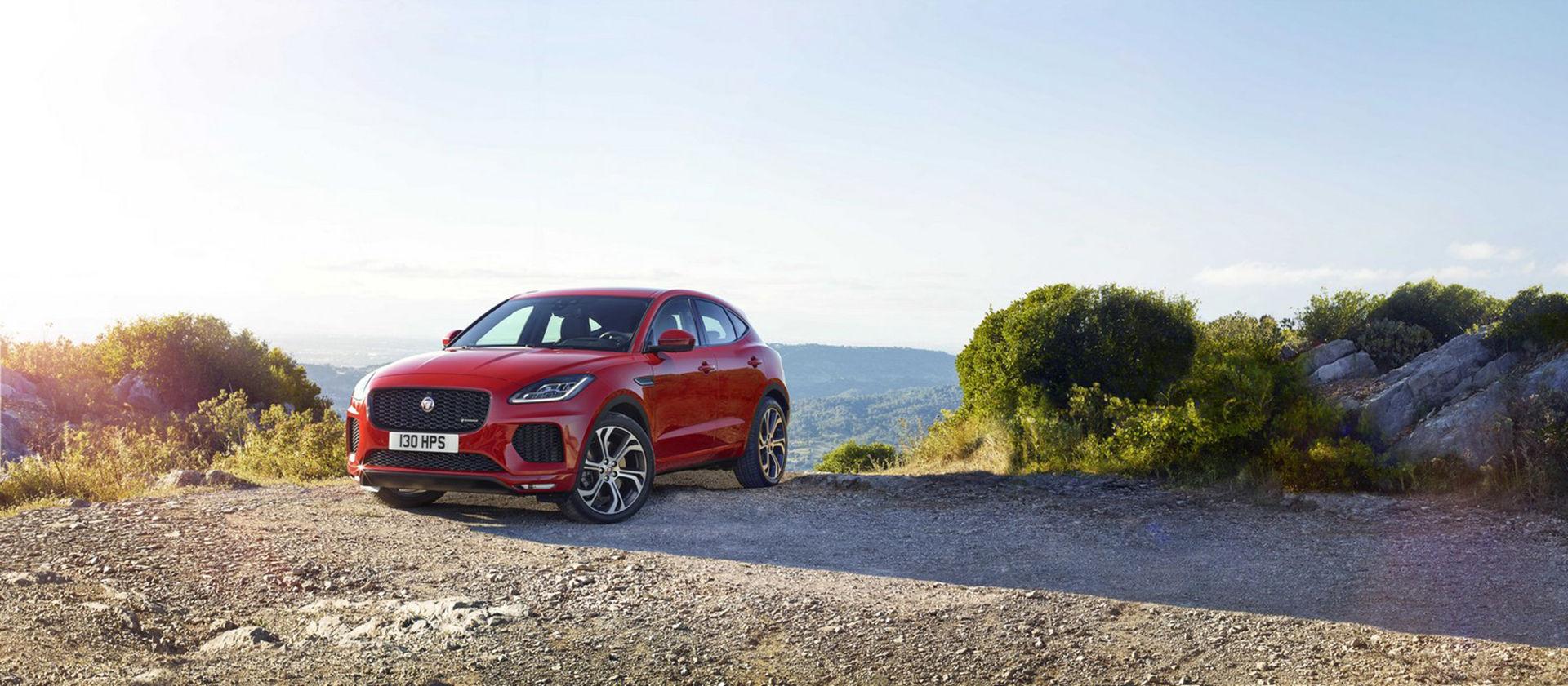 Jaguar presenterar E-Pace