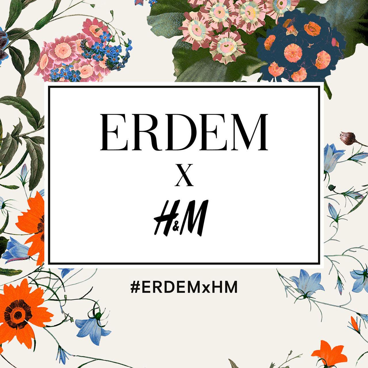 H&Ms nästa designsamarbete är med ERDEM