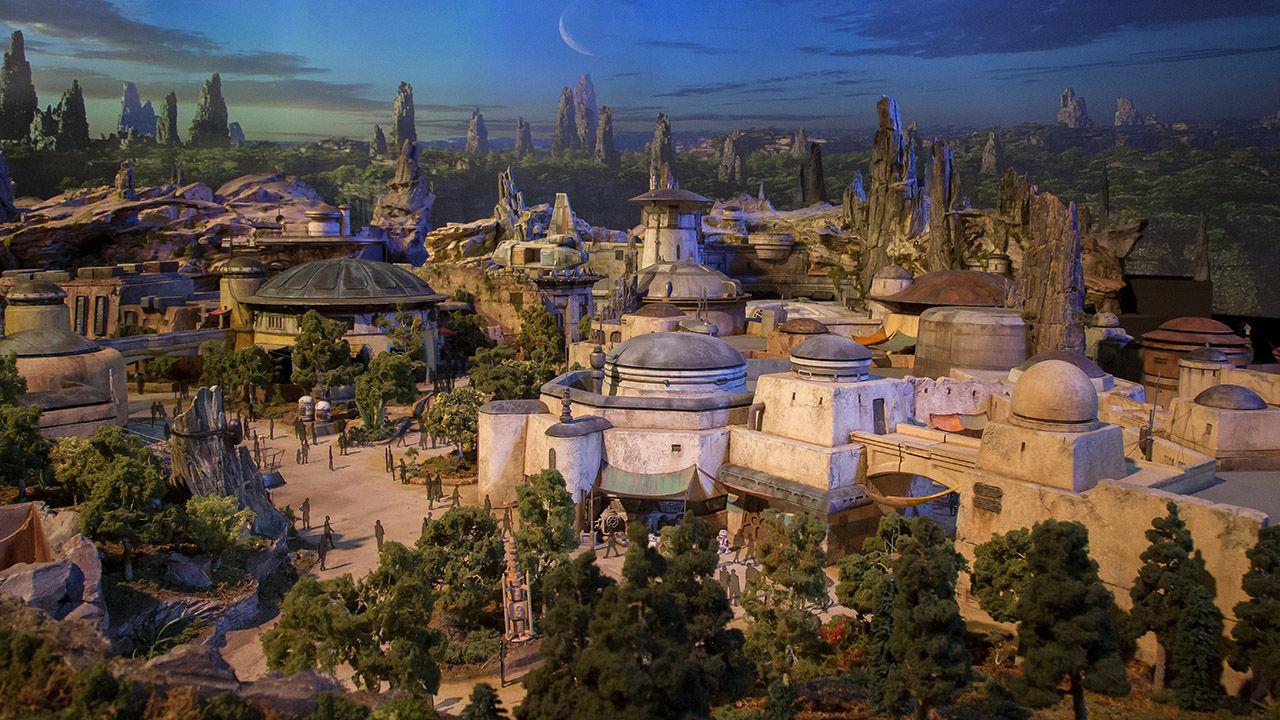 Så här kommer Disneys Star Wars-land att se ut
