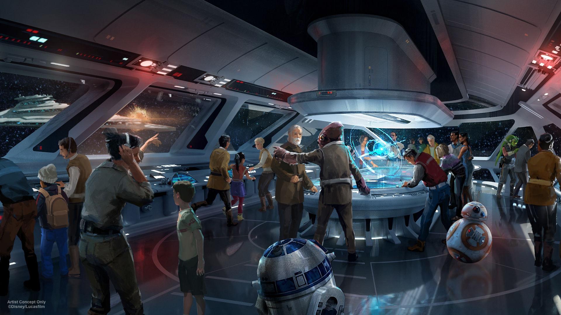 Disney ska bygga ett Star Wars-hotell