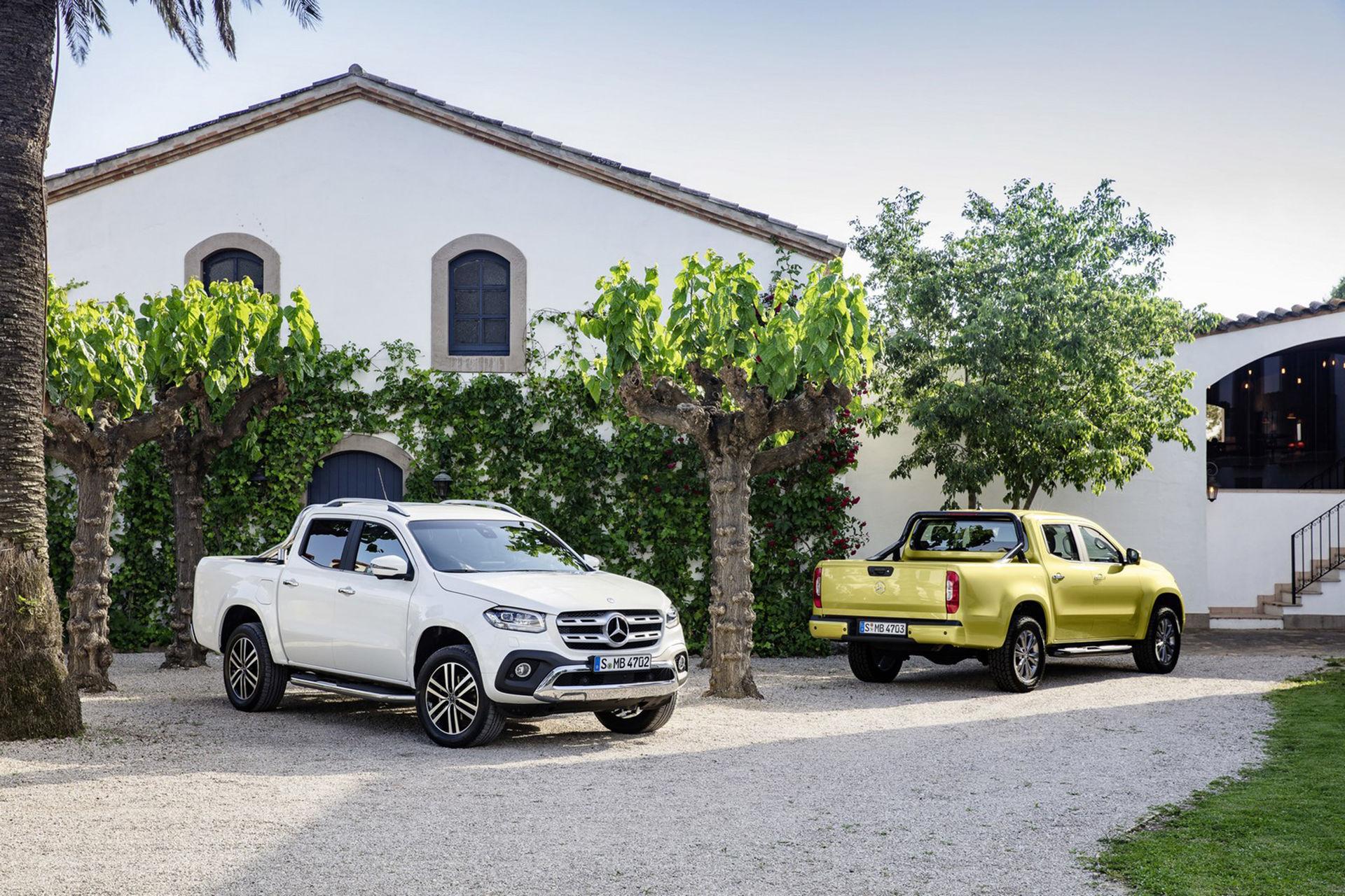 Ny era för Mercedes - det här är pickupen X-Klass