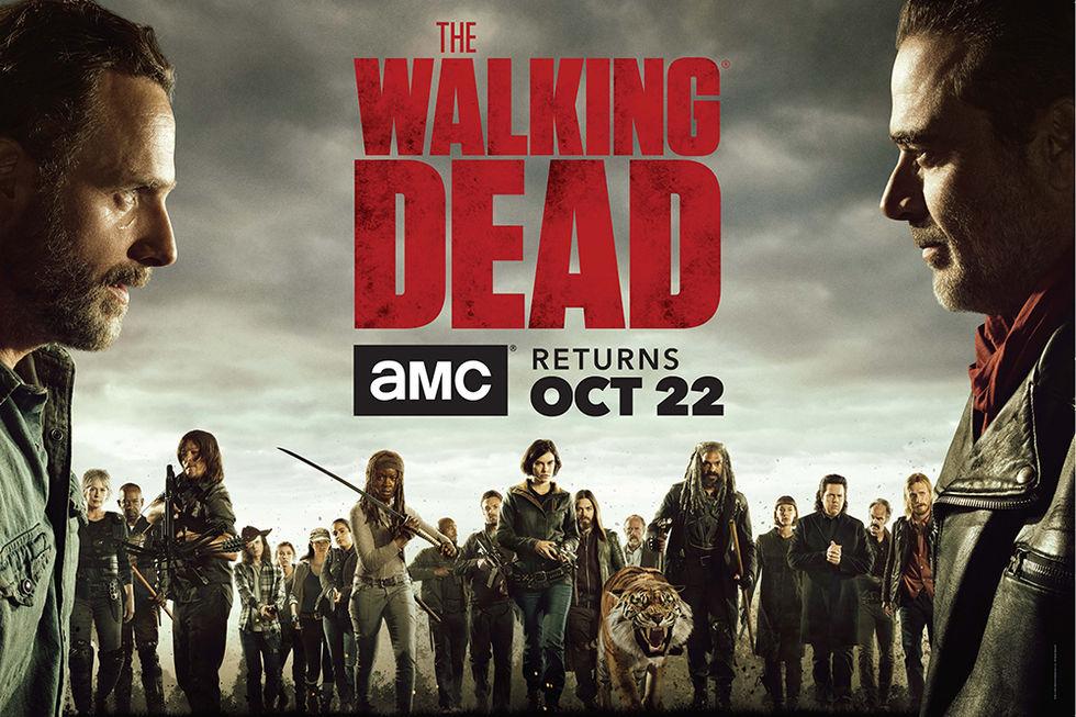 The Walking Dead tillbaka 22 oktober
