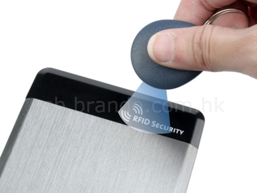 Skydda din data med RFID-nyckel