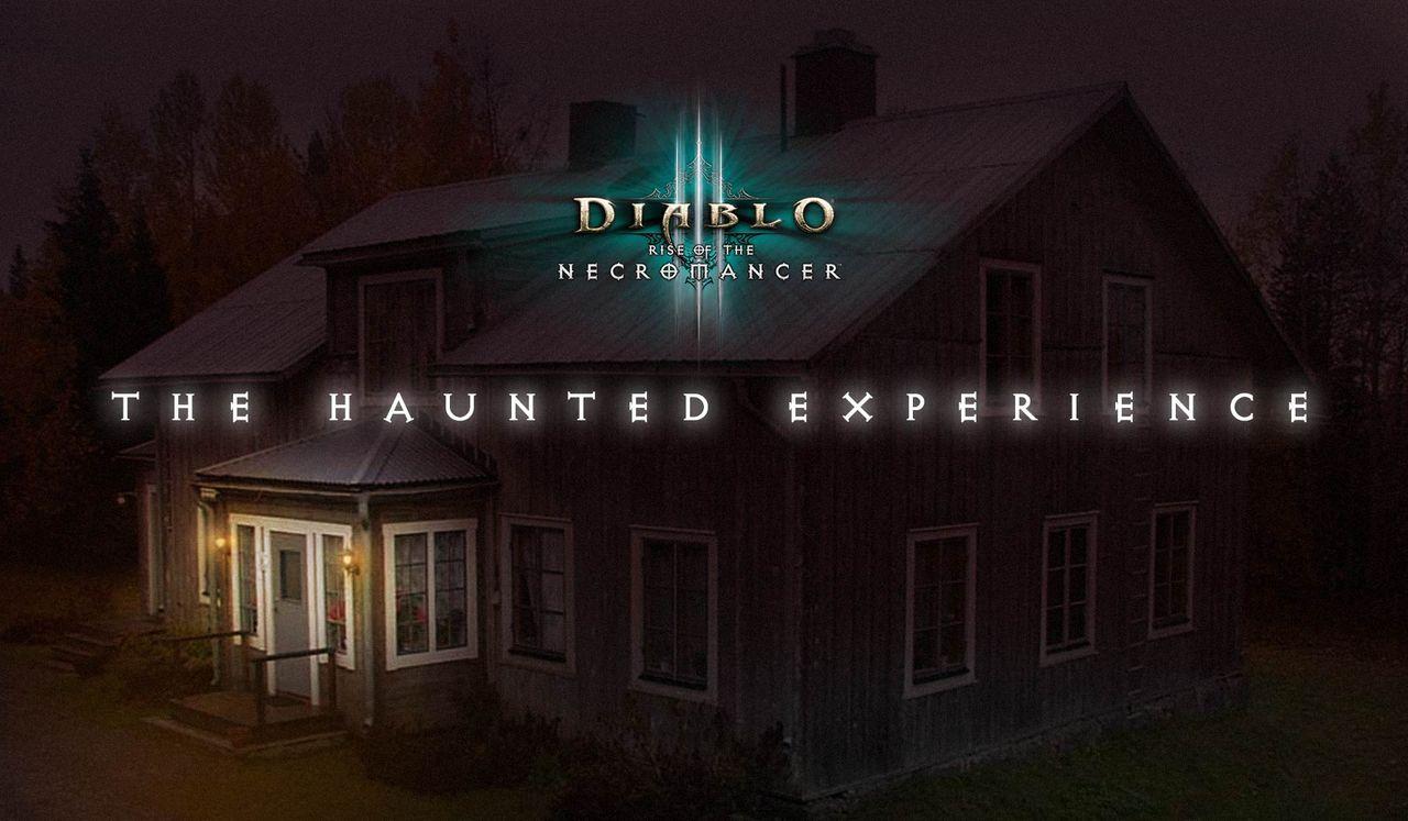 Blizzard bjuder in Diablo III-fans till spökfest