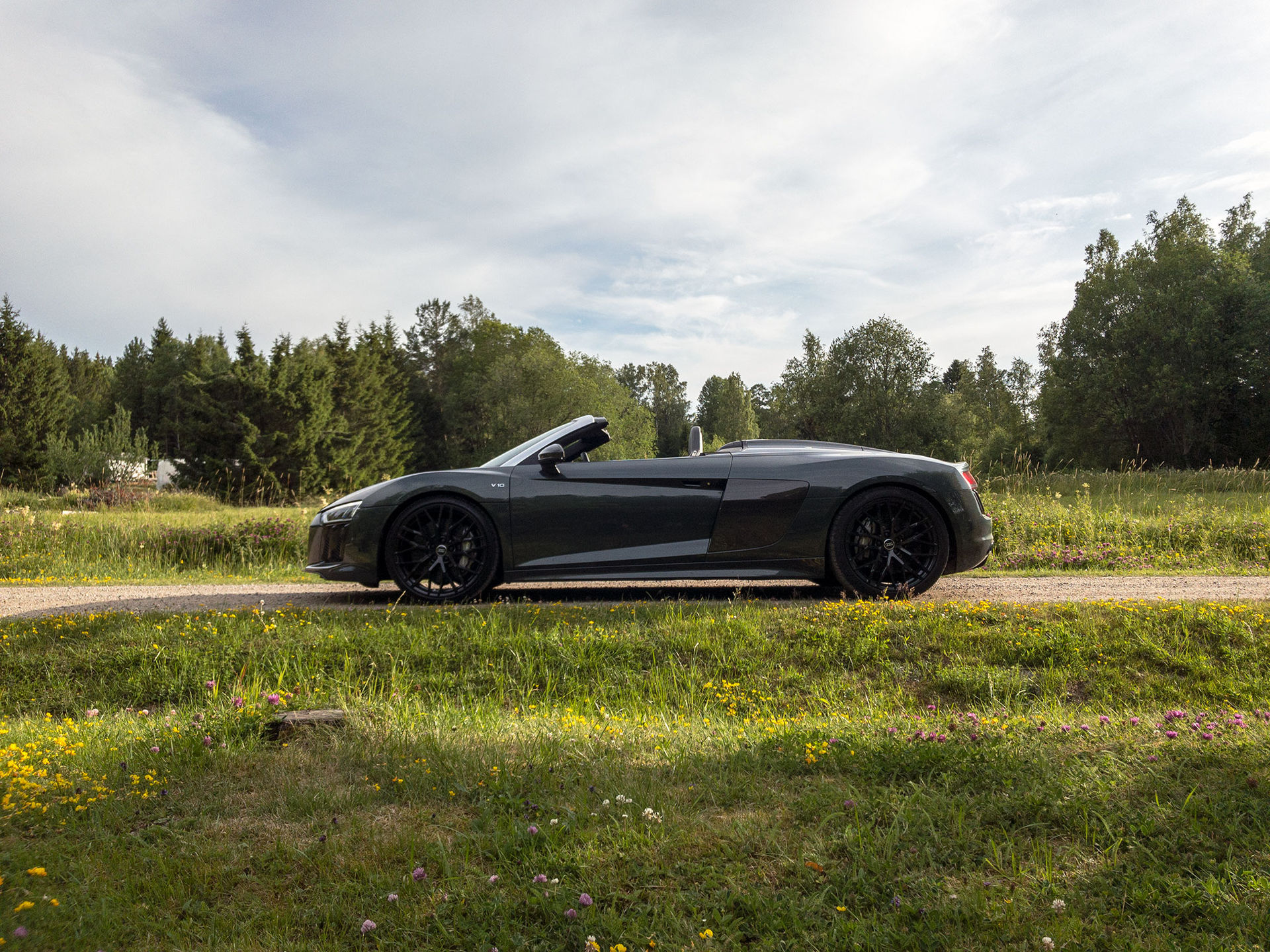 Jag har fått leva med en Audi R8 Spyder