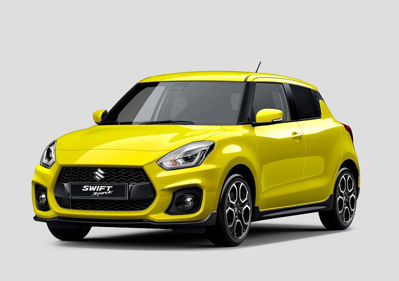 Första bilden på nya  Suzuki Swift Sport