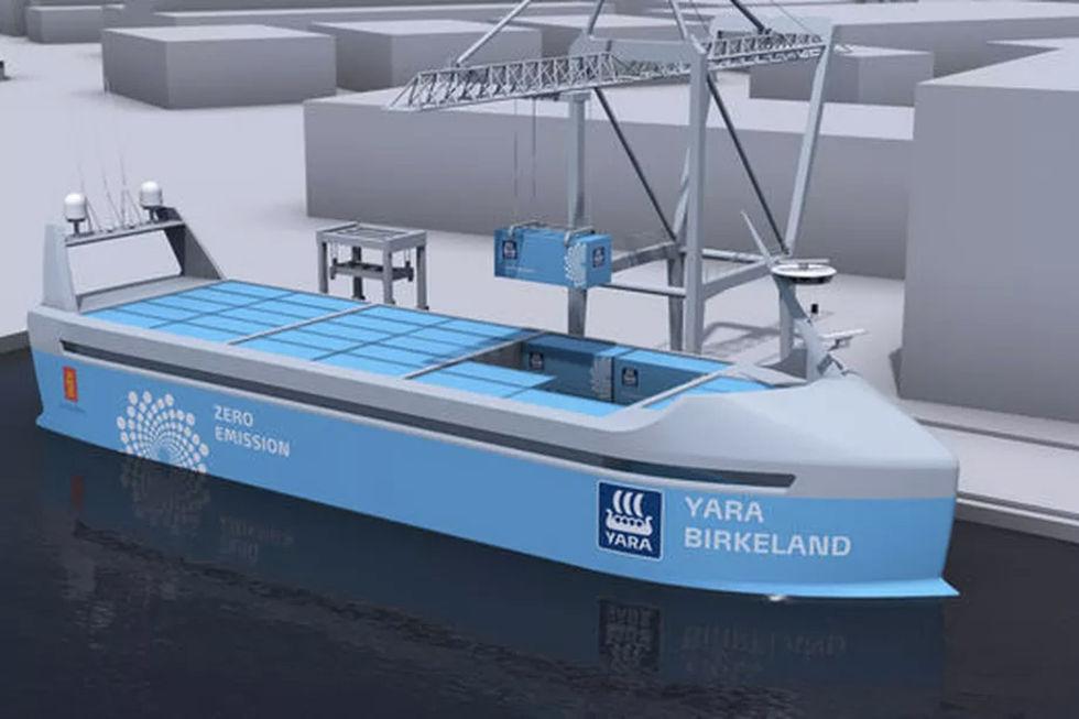 Världens första fartyg utan besättning sjösätts nästa år