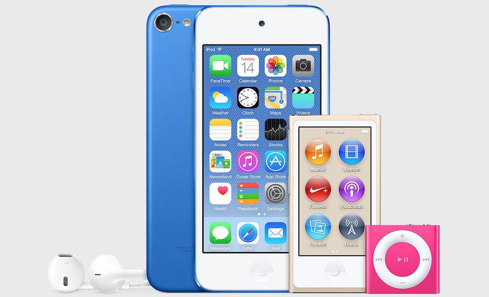 Hejdå iPod Nano och iPod Shuffle
