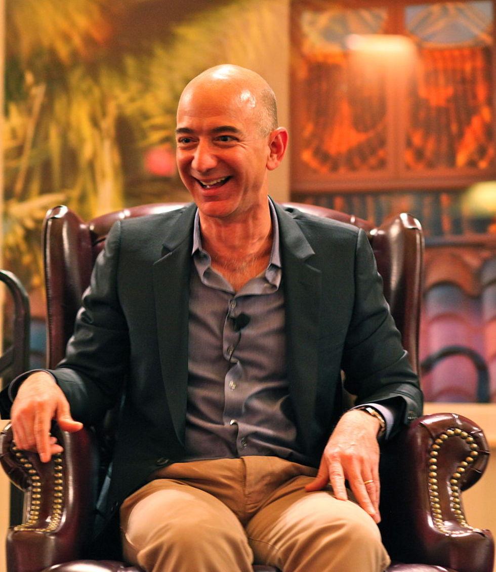 Jeff Bezos var rikast i världen en kort stund igår
