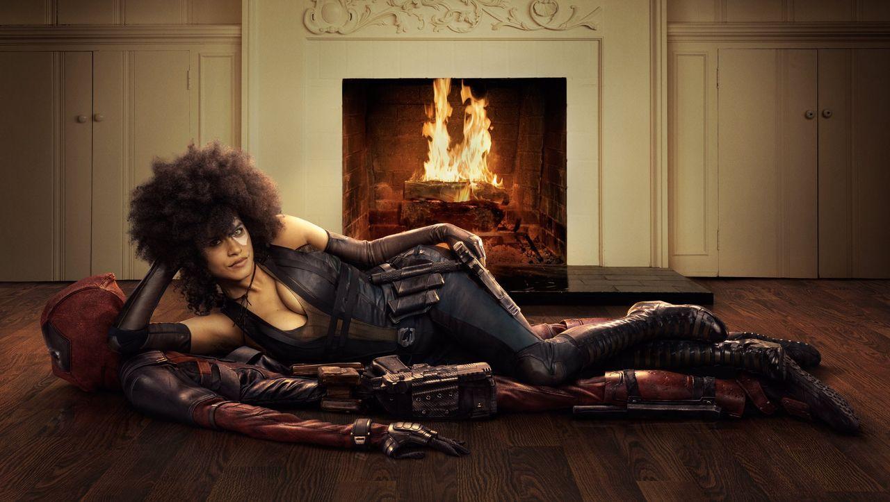 Första bilden på Domino från Deadpool 2