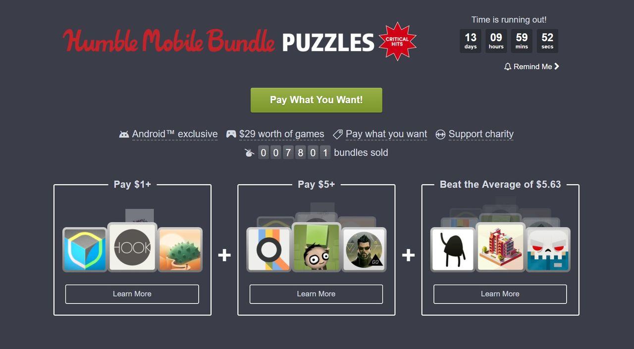Mentala utmaningar i mobilen i ny Humble Bundle