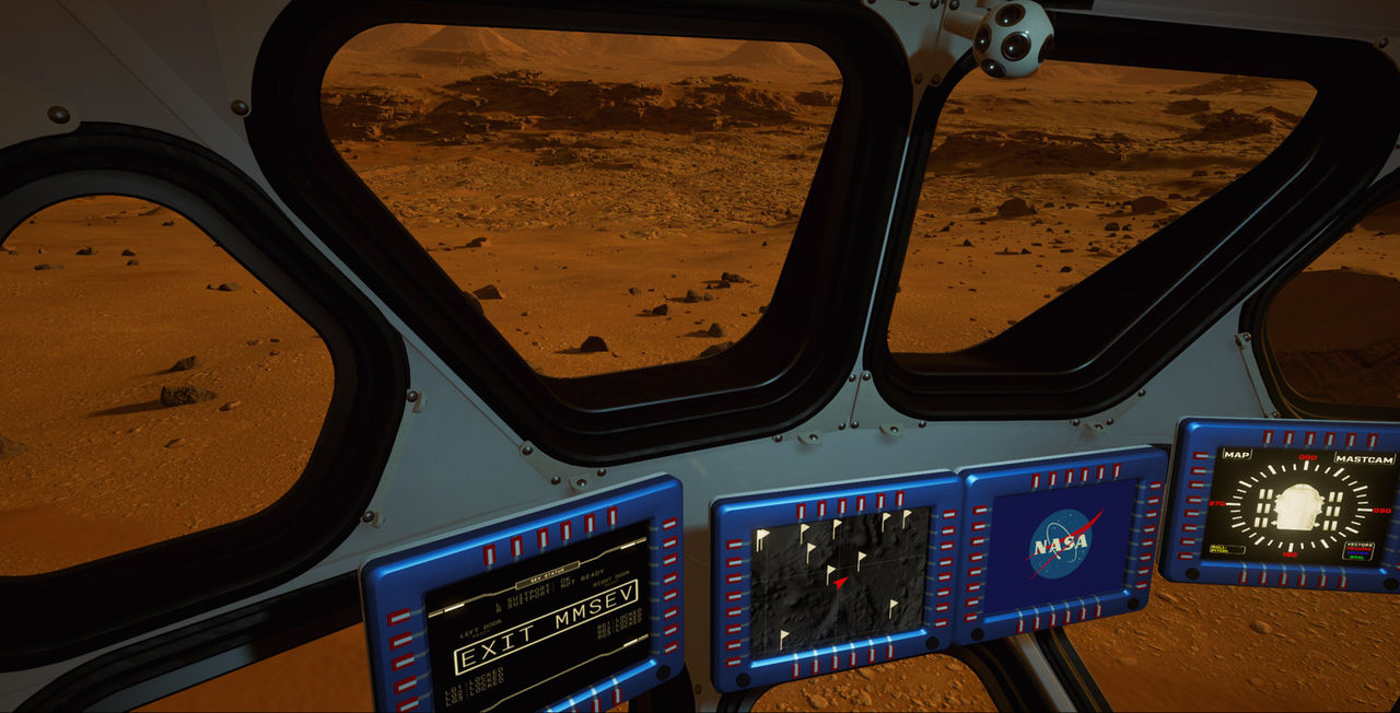 NASA släpper Mars-upplevelse i VR