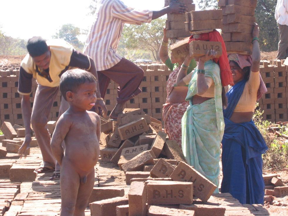 Satellitbilder ska hitta slavar i Indien