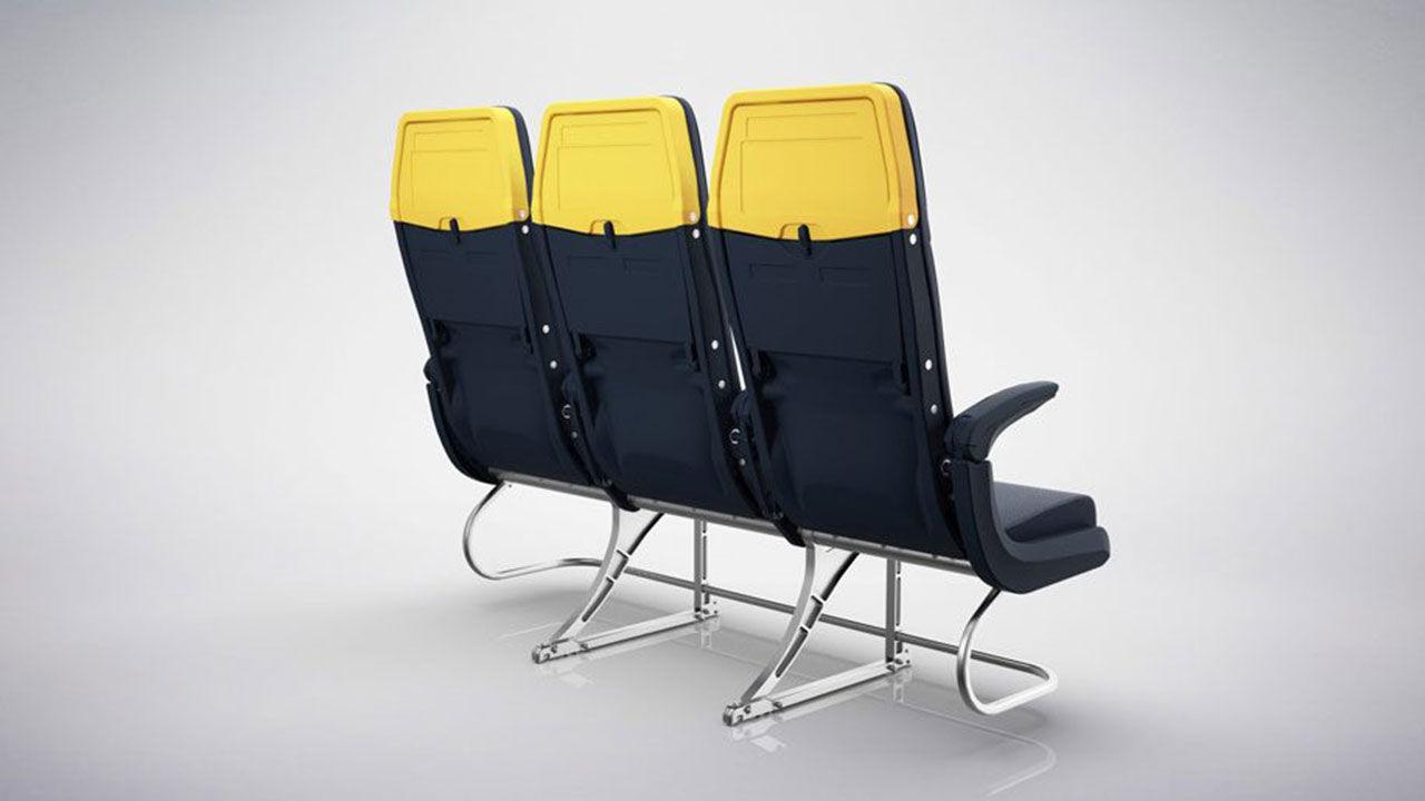 Ryanair visar nya stolar