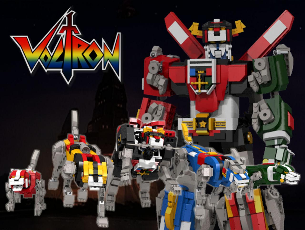LEGO ska släppa Voltron-byggsats