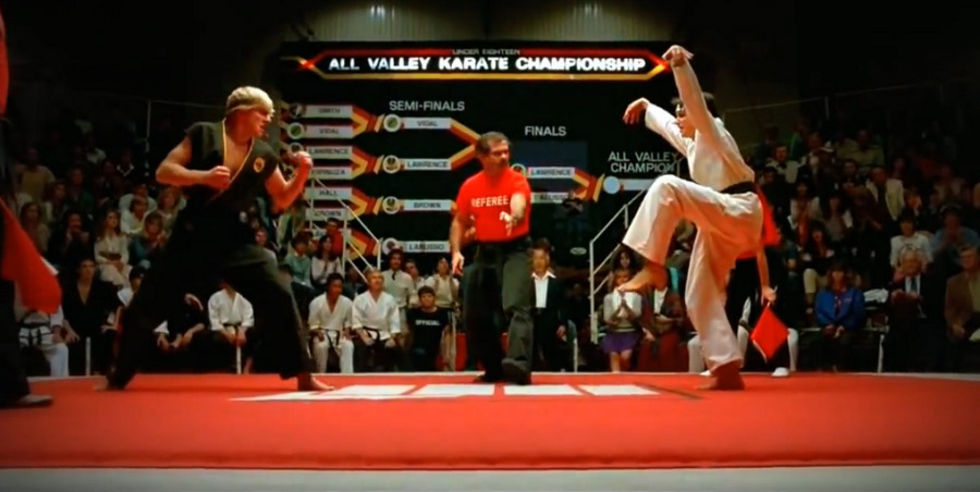 The Karate Kid blir TV-serie