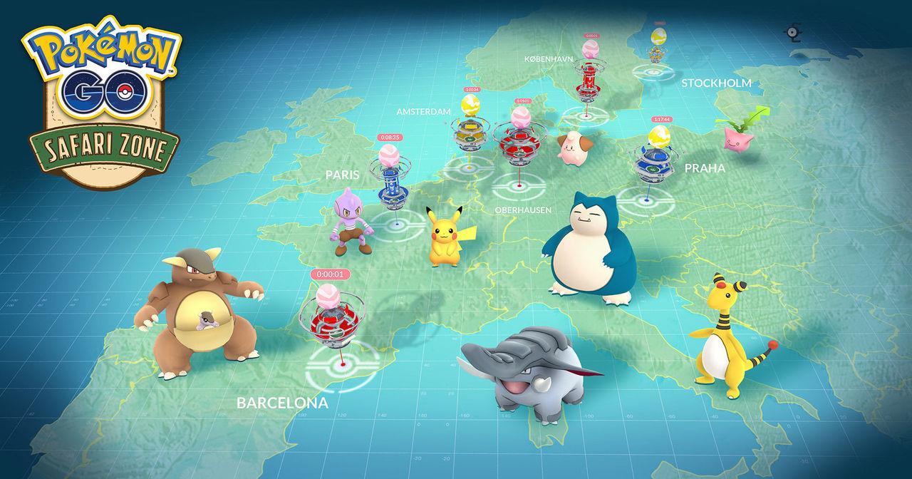 Sällsynta Pokémons har dykt upp i Stockholm