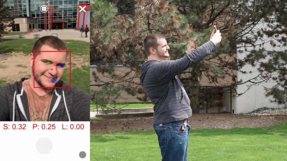Ny algoritm för att fixa bättre selfies