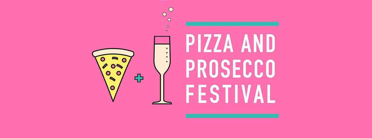 Pizza- och Prosecco-festival i London