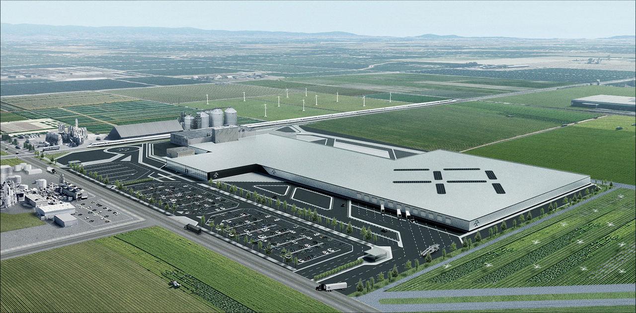 Faraday Future hyr ny produktionsanläggning i Kalifornien