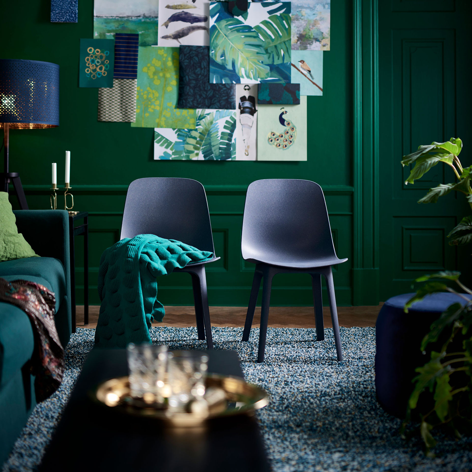 IKEA-stolen som sätts ihop med ett klick