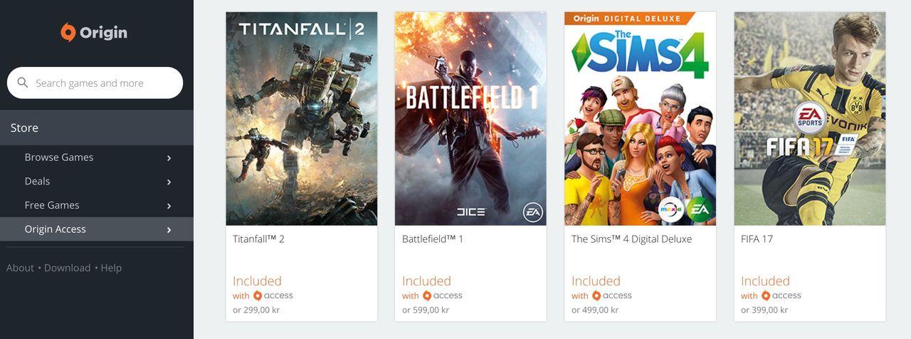 Nu kan du spela Battlefield 1 om du har Origin Access