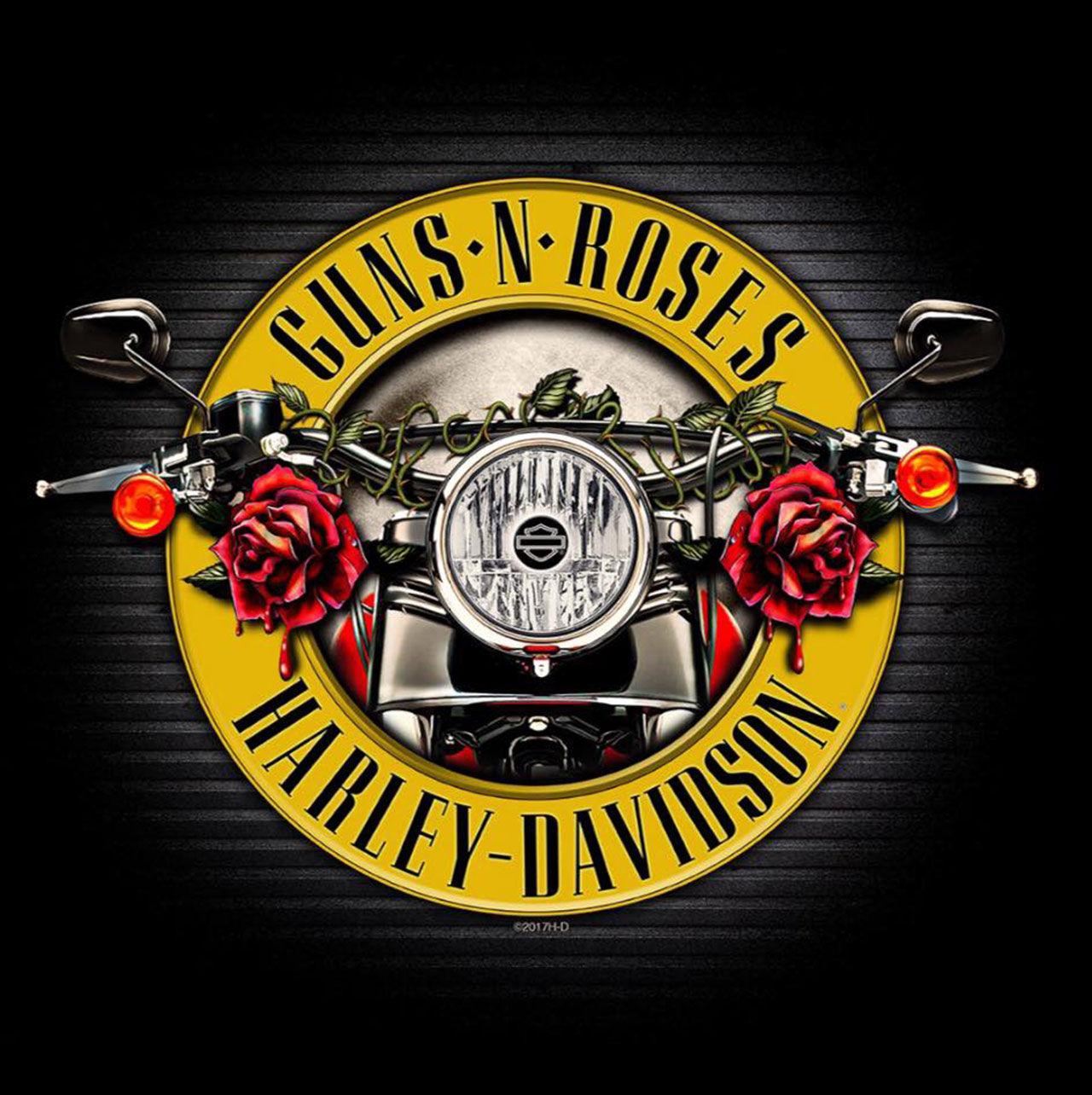 Harley-Davidson och Guns N' Roses släpper kläder