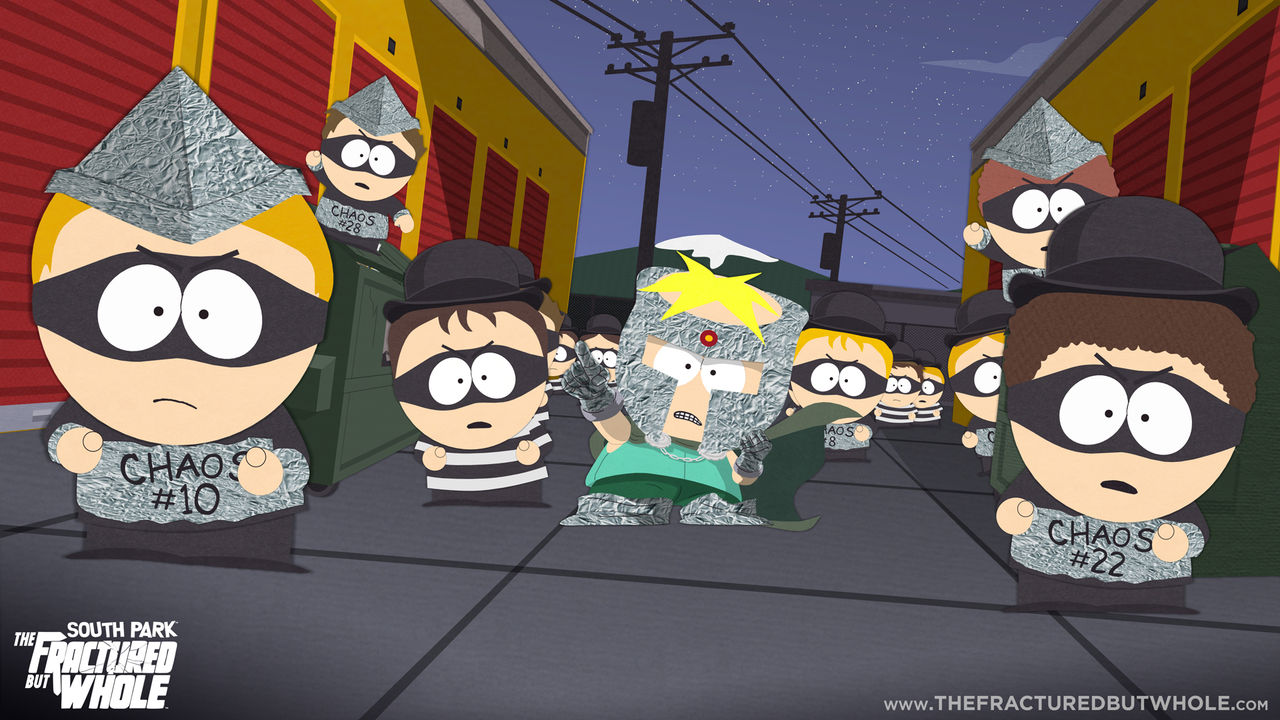 Systemkraven för South Park: The Fractured But Whole