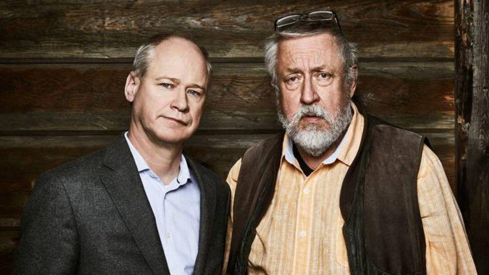 Leif GW Persson och Robert Gustafsson gör kriminalserie