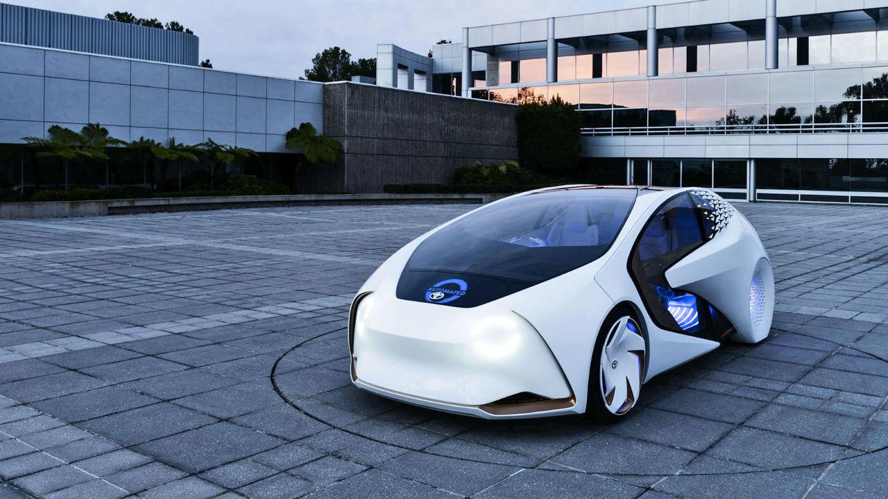 Toyota ska bygga system för framtidens självkörande bilar