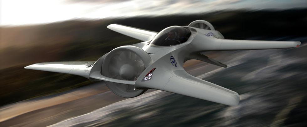 DeLorean ska bygga en flygande bil