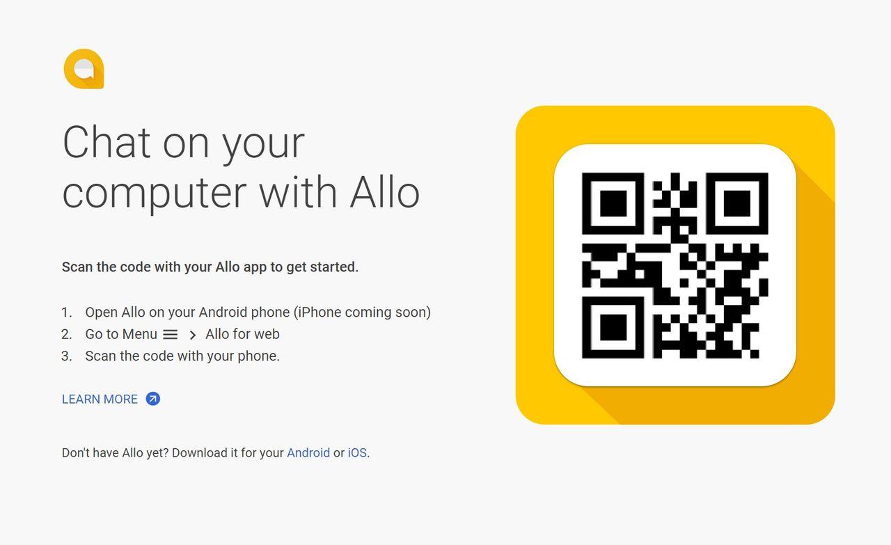 Webbversionen av Allo ute nu
